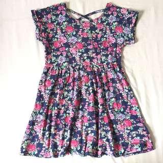 Forever 21 Girls Floral Dress