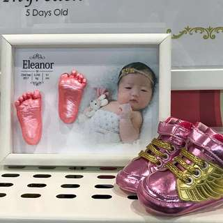 EXCLUSIVE 3D Lifecasting for Baby FEET Package 👣