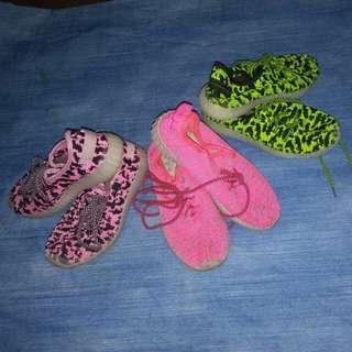 Neon rubber shoes (size 36)