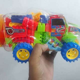 TOYS FOR KIDS- Blocks in a Truck