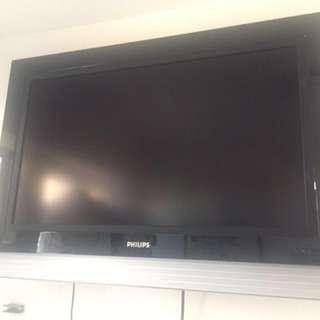 Philips 37寸平面電視連機頂盒