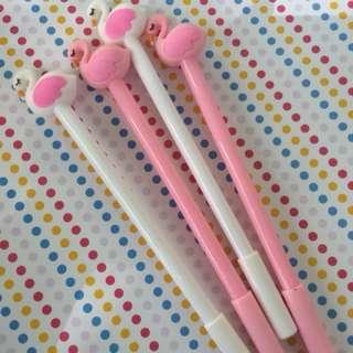 Flamingo erasable pen