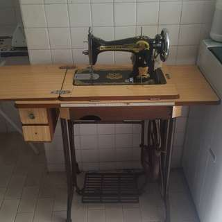 Sewing machine - butterfly