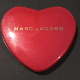 Auth Marc Jacobs Heart Compact Mirror