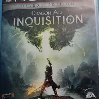 ps3 game Dragon Age Inquisition