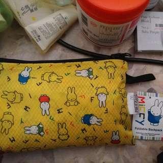 Miffy foldable bagpack