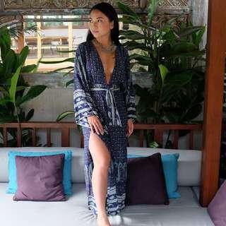 Boho maxi dress by Le Salty Label Size 6
