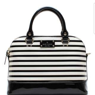 Kate Spade Rachelle Wellesley Patent Leather Satchel