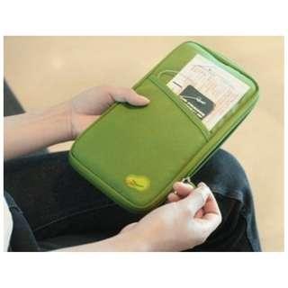 Dompet travel untuk organizer passport dan kartu lainnya - hhm076