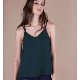 Looking for TTR Zena Cross Back Spag in Forest Green
