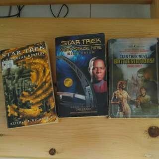 Buku Star Trek 3 pcs (English)