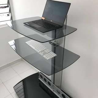 Imported Tv Stand Trolley /Standing Desk Orig Price 800 #changeitup