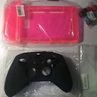 Black silicone case for Xbox controller