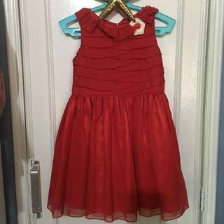 Girl's Red Dress 5-6y/o