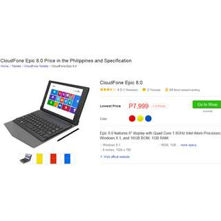 REPRICED: FROM 6K TO 5K PLUS FREE 32GB TOSHIBA SDCARD(OPEN FOR SWAPPING:ANY 5.5 INCH SMART PHONES LTE WITH GOOD CAMERA)mini computer windows 8.1 (8000.00) and huawei wifi e5377(5000.00) bundle na to for only 6000.00