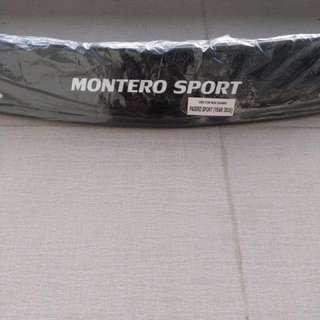 Montero Sport Hood Visor 2016