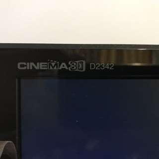 23吋 LG D2342 Mon Support Cinema 3D