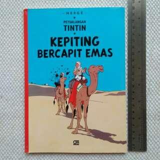 Tintin : Kepiting Bercapit Emas