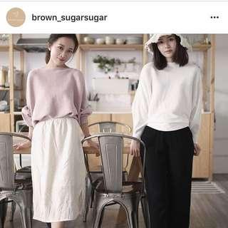 IG shop Brown Sugarsugar 粉紅Top