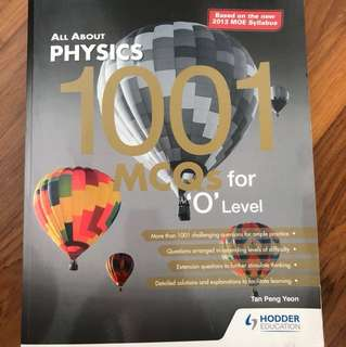 Physics Assessment Book: All about physics 1001 MCQ for o level