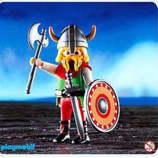 6 x Playmobil Special 4599 Viking