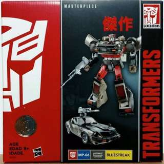 Transformers Masterpiece MP-06 Bluestreak
