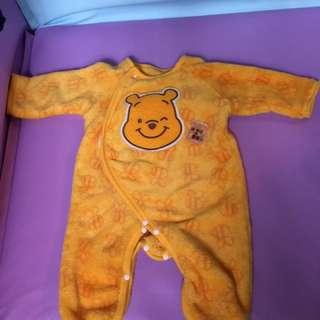 Winnie the Pooh 珊瑚絨夾衣