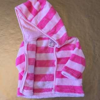 pink zipper hoodie