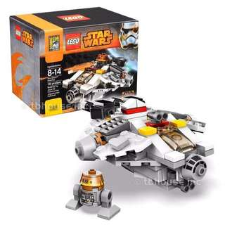 LEGO SDCC 2014 Star Wars The Ghost Starship S/N 0243/1000