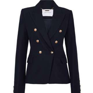 WANTED Camilla & Marc Dimmer Blazer Black/Navy Size 8-10