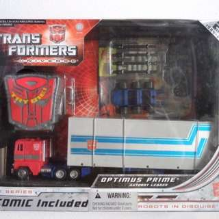 Transformers Universe 25th Anniversary Optimus Prime