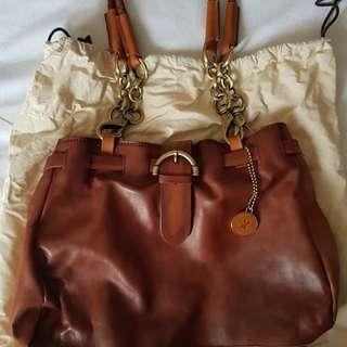Leather Woodlands Handbag