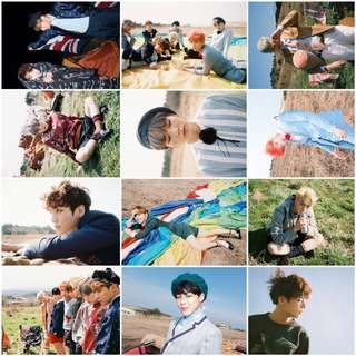 Young Forever bts lomocards/ photocards