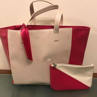 🈹️💲50 Lancôme Tote Bag + cosmetics Bags