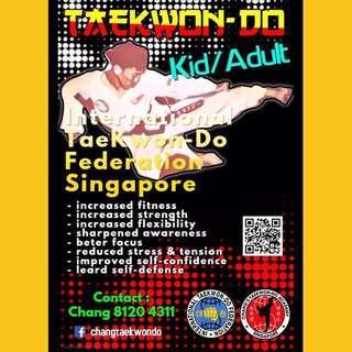 Kids / Adults Taekwondo Class @ Choa Chu Kang