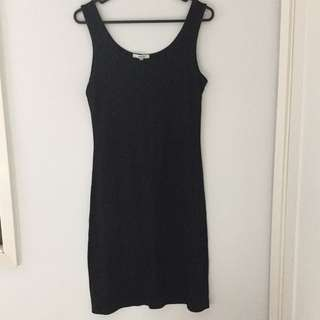 Valleygirl black dress