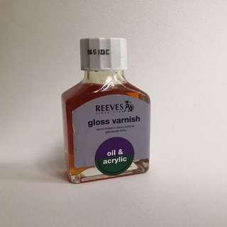 Reevrs. Gloss Varnish for Acrylic