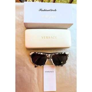 Free shipping. Preloved rare style genuine Versace sunglasses