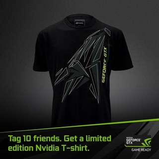Want To Buy Nvidia Geforce Tshirt