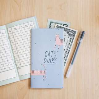 Animals Diary Cash Book