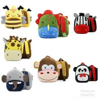 Zoo Plush Backpack (For Age 2-4Y)