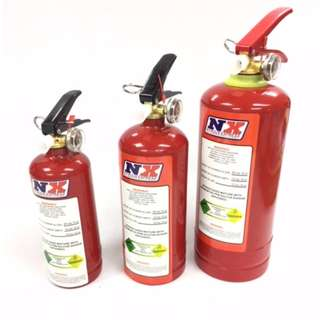 ZEX NITROUS  Fire Extinguisher   0.5KG   Powder  model 25483