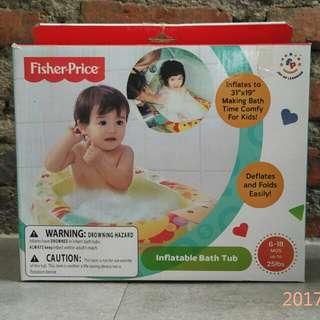Inflatable bath tub FisherPrice
