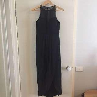 Forever New formal black dress