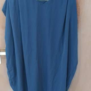 Olin's Closet medium dress color navy
