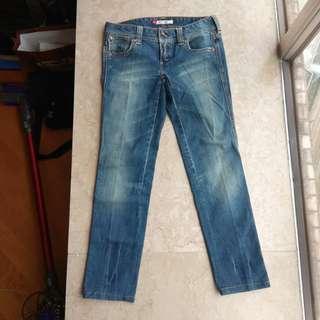 Levi's 580 slim 牛仔褲 Size 27