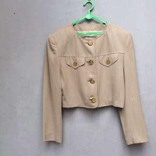 Crop blazer vintage tokyo style