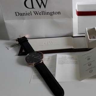 Jam Tangan Daniel Wellington DW Classic Black Series Original-BM