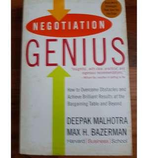 Negotiating genius
