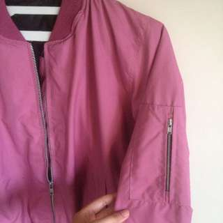 BOMBER JACKET Dusty Pink